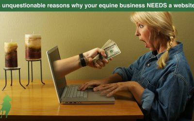 8 unquestionable reasons why your equine business NEEDS a website